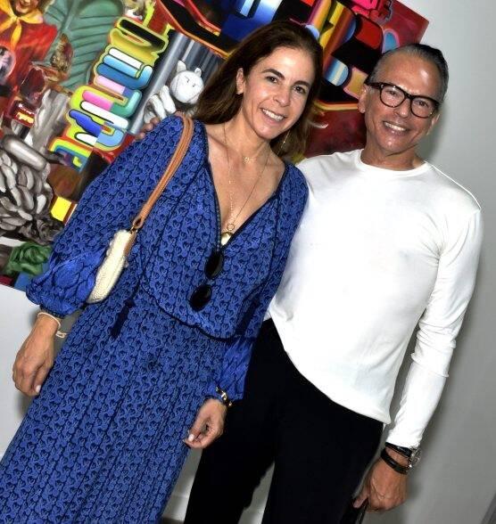 Jackie de Botton e Heckel Verri /Foto: Cristina Granato