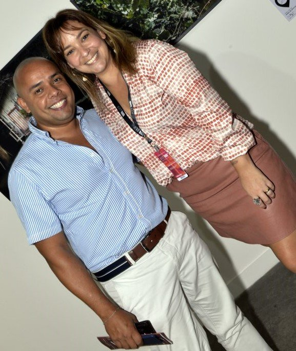 Robson Outeiro e Ludimila Oliveira /Foto: Cristina Granato