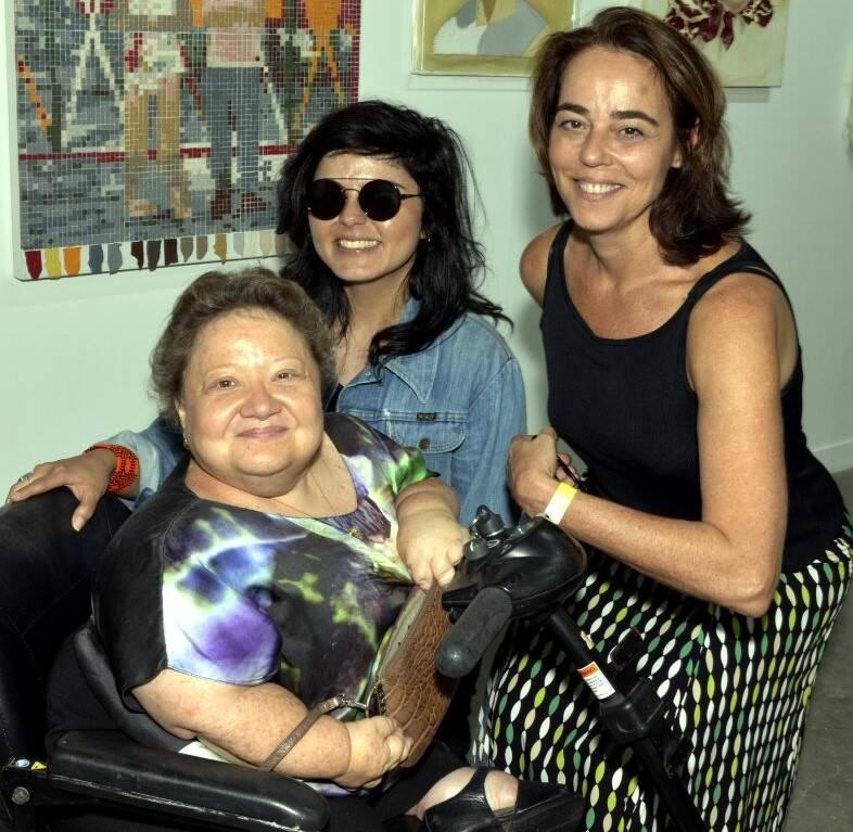 Isabela Portela, Roberta Carvalho e Ursula Tautz /Foto: Cristina Granato