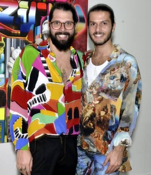 Thomas Azulay e Patrick Doering  /Foto: Cristina Granato