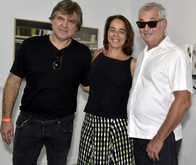 Dudu Garcia, Ursula Tautz e Marcos Chaves  /Foto: Cristina Granato