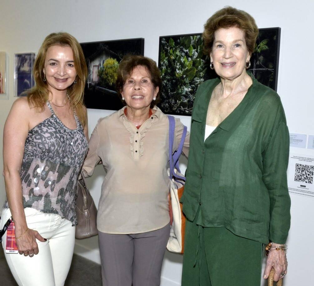 Simone Cadinelli, Hecilda Fadel e Cookie Richers /Foto: Cristina Granato