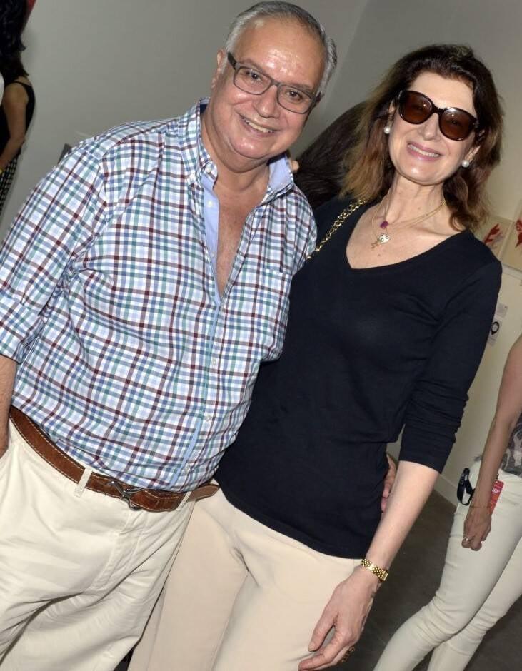 Paulino e  Fernanda Basto /Foto: Cristina Granato