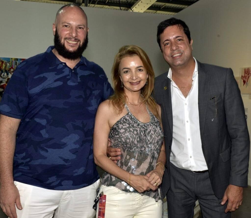 Pablo Leon, Simone Cadinelli e Eduardo Braule-Wanderley /Foto: Cristina Granato