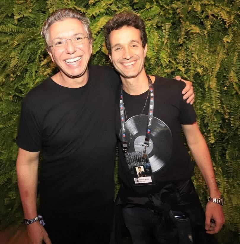Boninho e Rodolfo Medina /Foto: Fred Pontes