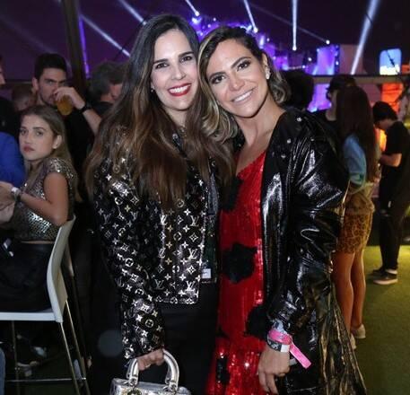 Claudia Romano e Carol Sampaio /Foto: Reginaldo|Teixeira