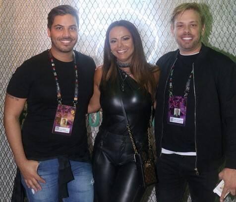Diogo Bocca, Viviane Araújo e Bruno Chateaubriand  /Foto: Reginaldo Teixeira
