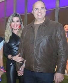 Helena e Wilson Witzel /Foto: Reginaldo Teixeira