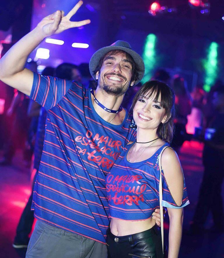 Fernando Dolabella e Marcela Valente