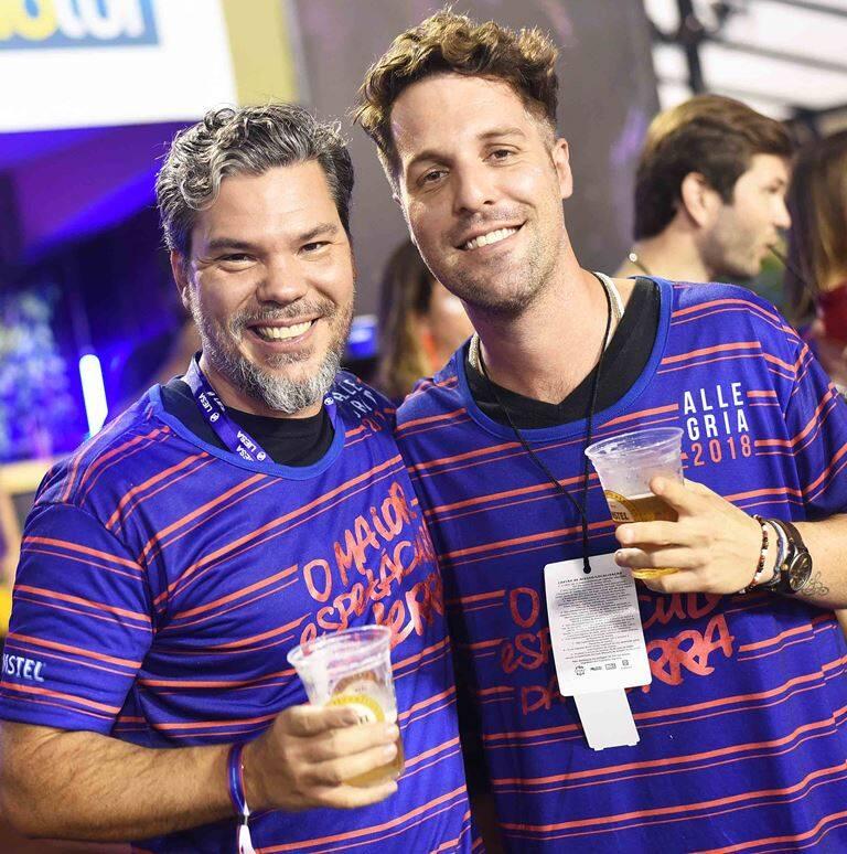 Pedro de Artagão e Rodrigo Lampreia
