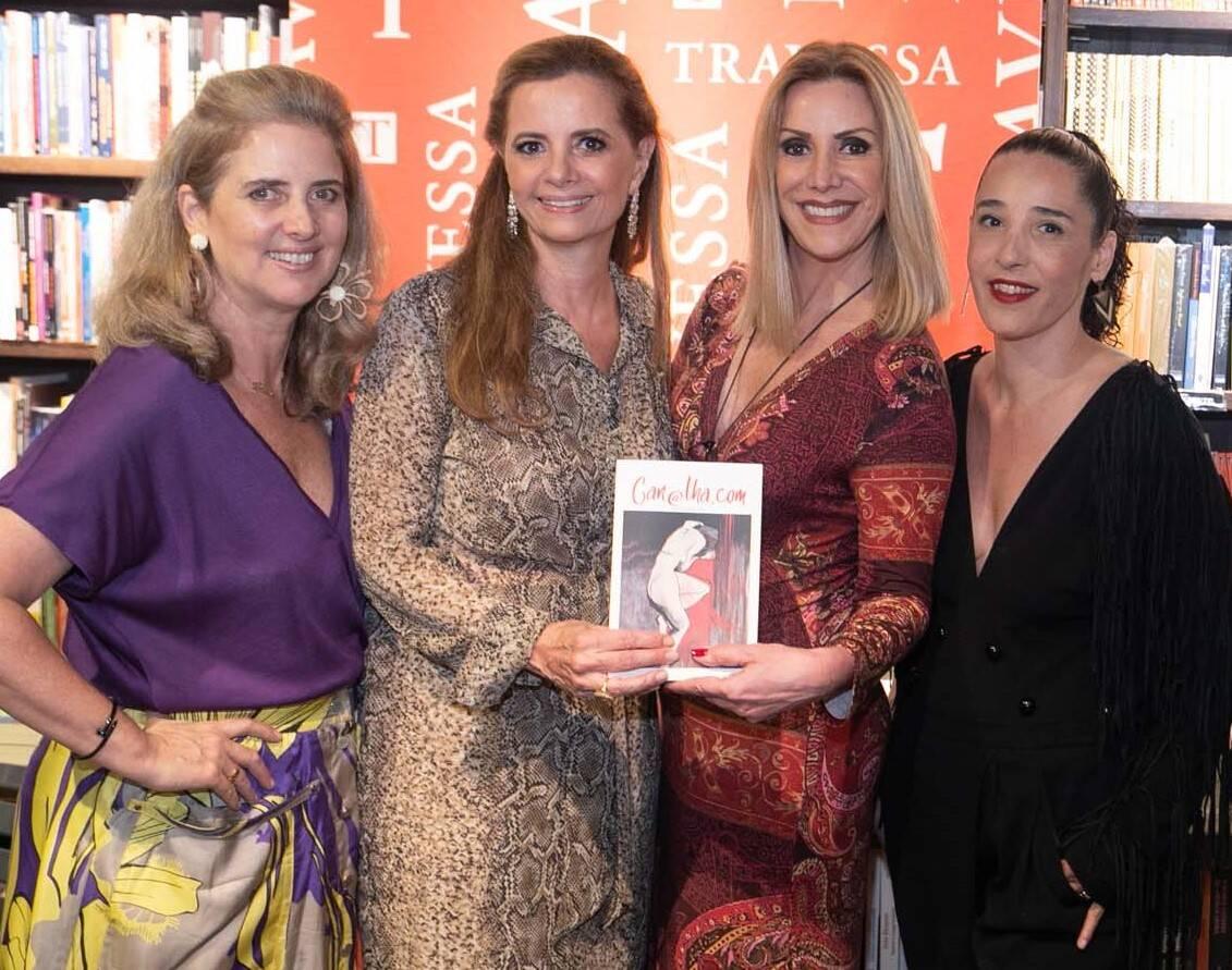 Kika Gama Lobo, Priscila Bentes, Isabella Francisco e Roberta Stamato   /Foto: Miguel Sá