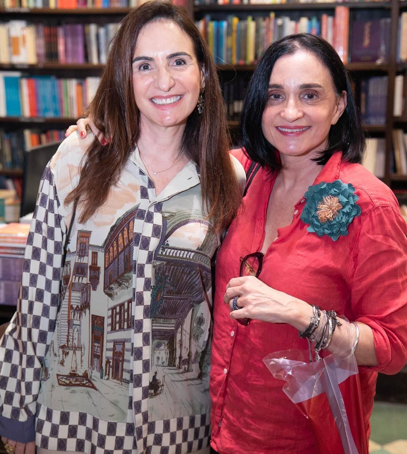 Ana Clara Tenenbaum e Betina D' Archemont /Foto: Miguel Sá
