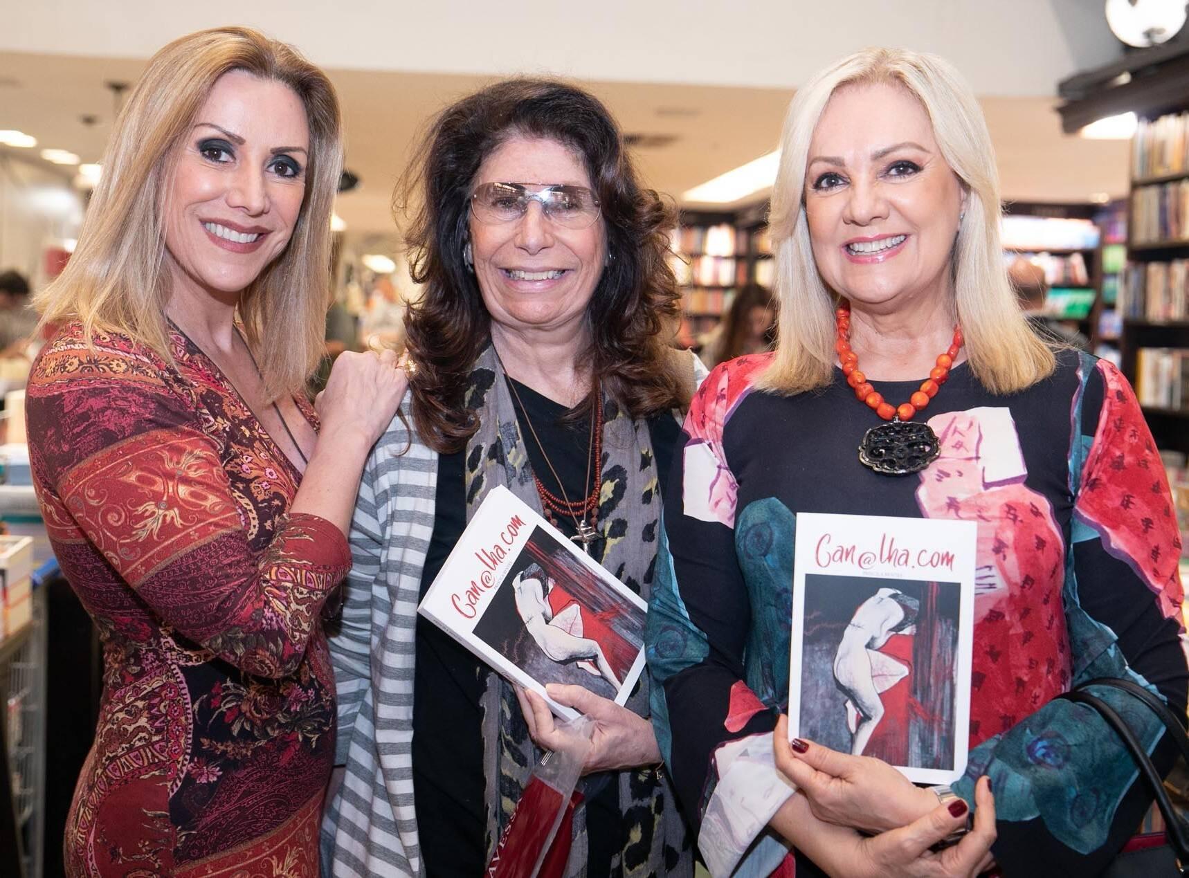 Isabella Francisco,  Ana Maria Tornaghi e  Alda Soares  /Foto: Miguel Sá