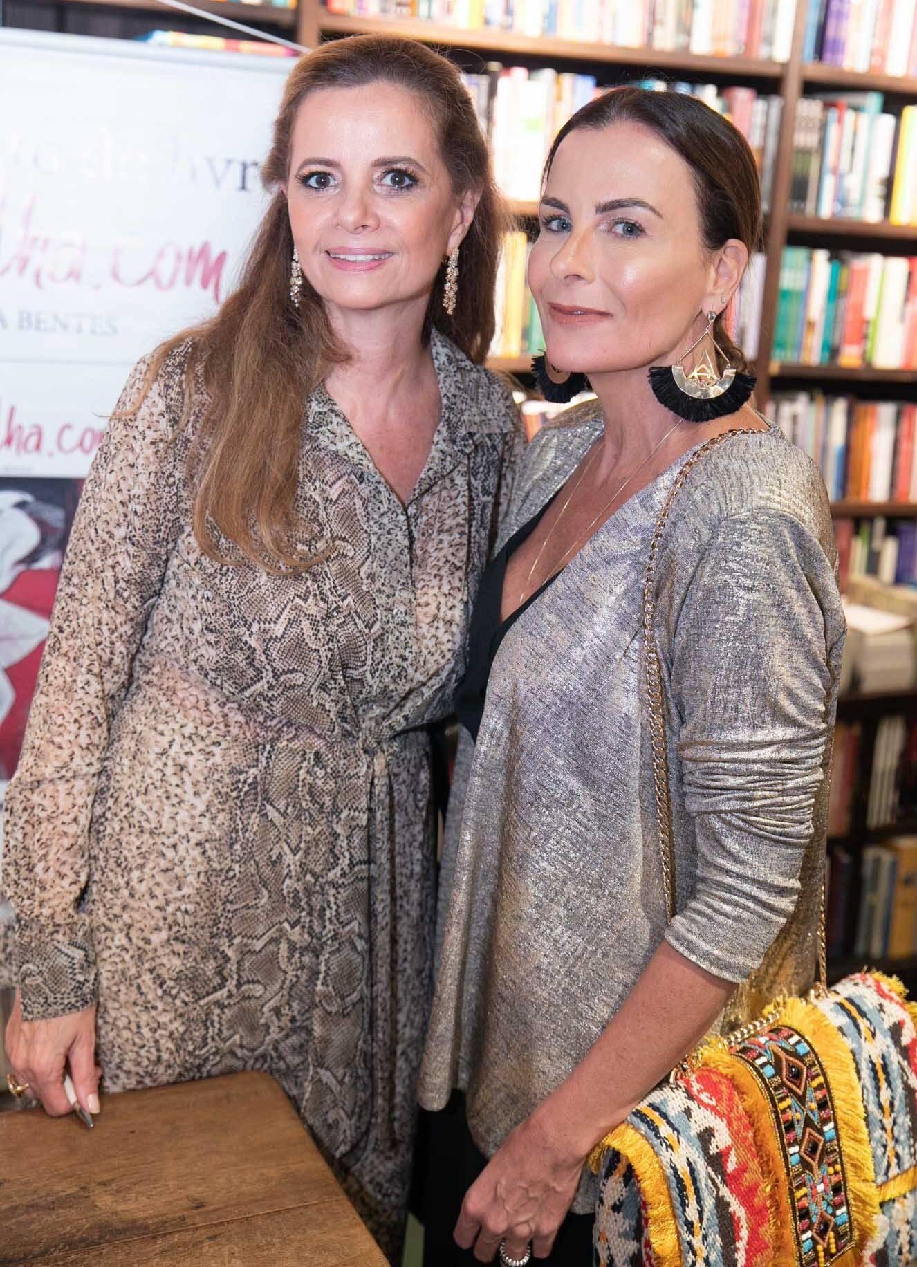 Priscila Bentes e Flavia Pires  /Foto: Miguel Sá