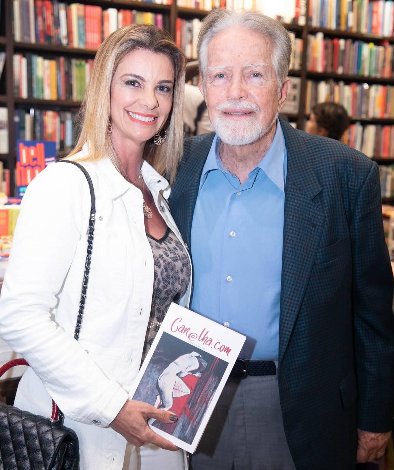 Carla Pimentel e Brian Michael Neele  /Foto: Miguel Sá