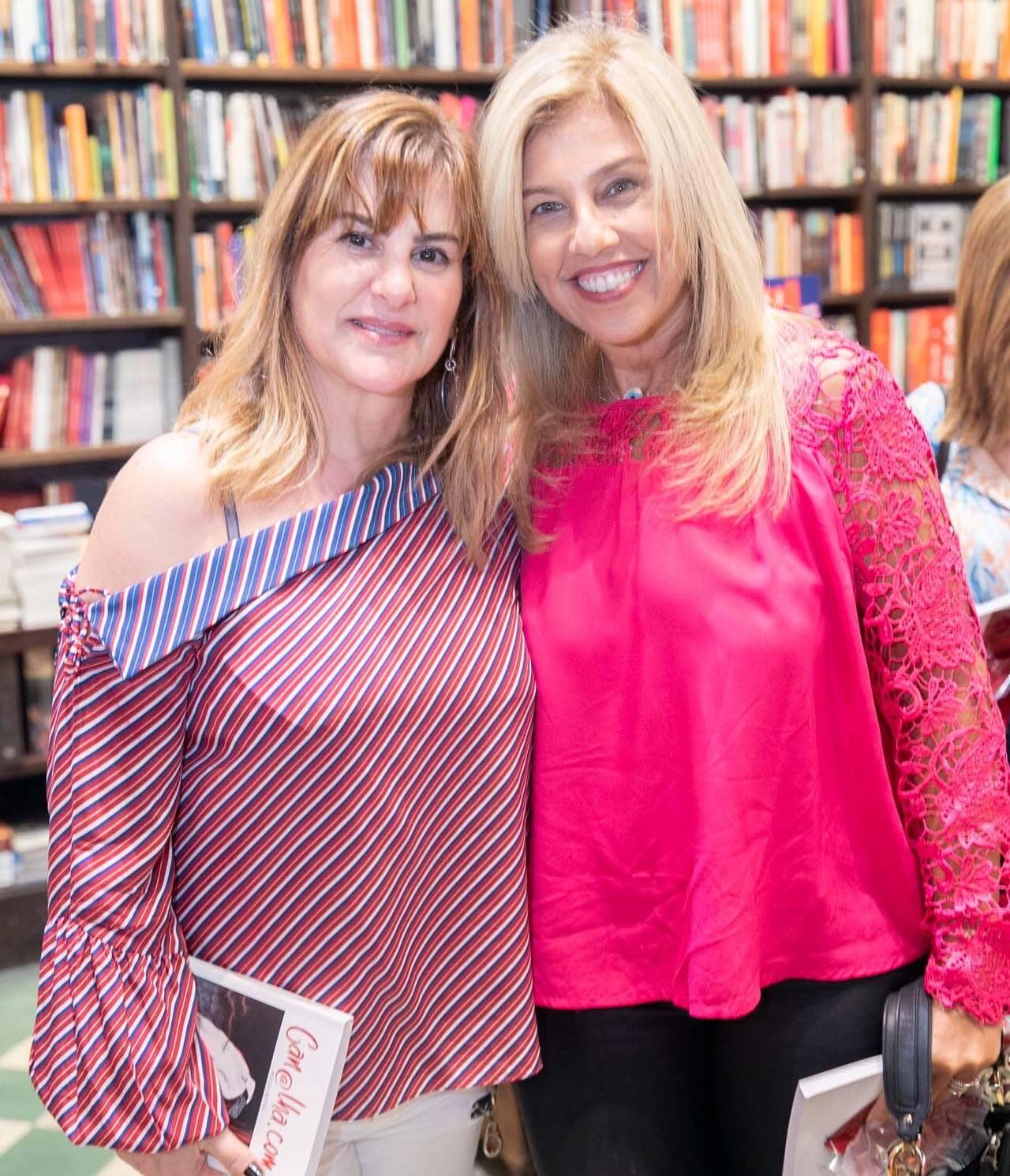 Denise Sirotsky Katz e Katia Cohen  /Foto: Miguel Sá