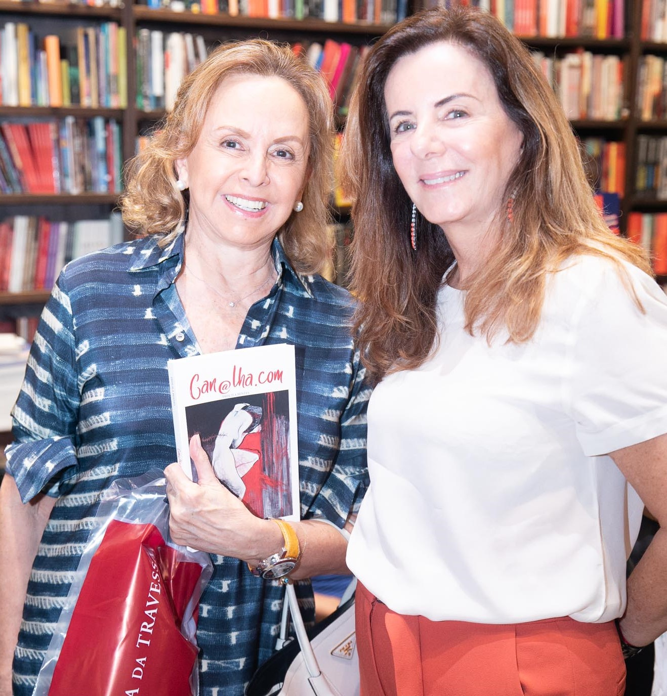 Ina yazeji e Ruth Szapiro /Foto: Miguel Sá