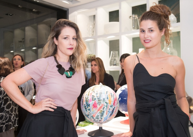 Daniela Bechara e Raquel Wymann