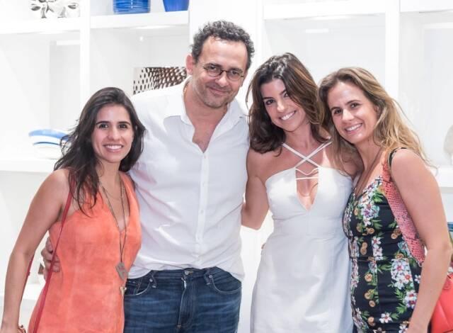 Fernanda Neves, Maneco Quinderé, Luciana Algarte e Paula Grumser