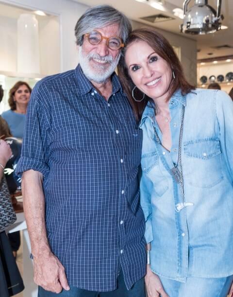 Luiz Garrido e Regina Martelli