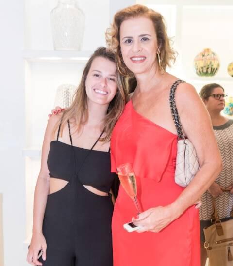 Vitória Moraes e Rosana de Moraes