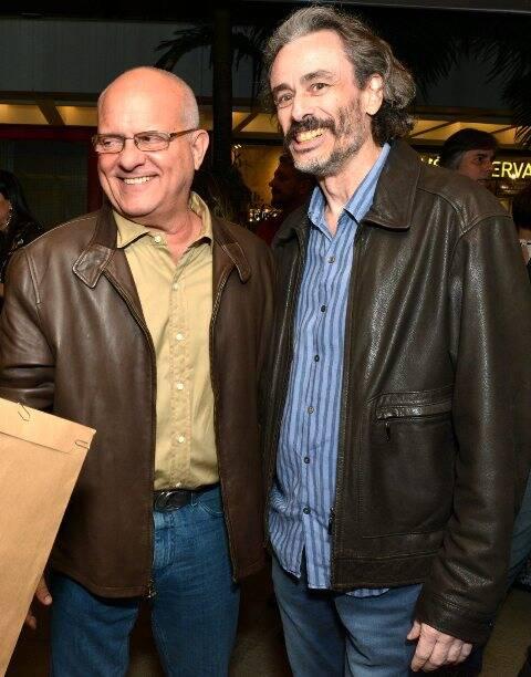 Luis Erlanger e Guilherme Fiuza