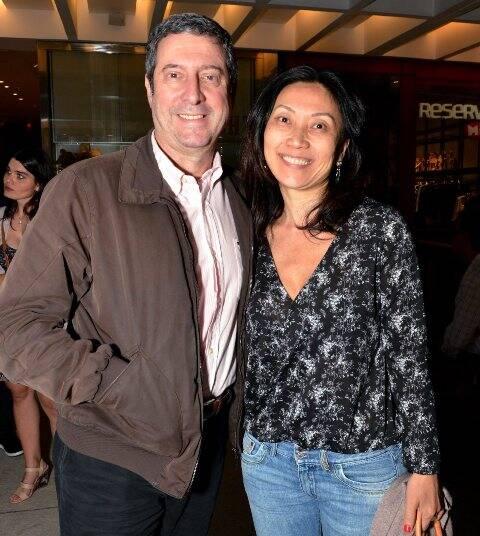 João Barroso e Evelyn Arabella