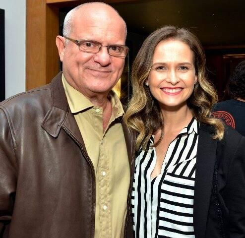 Luis Erlanger e Fernanda Rodrigues
