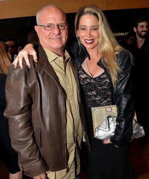 Luis Erlanger e Danielle Winits