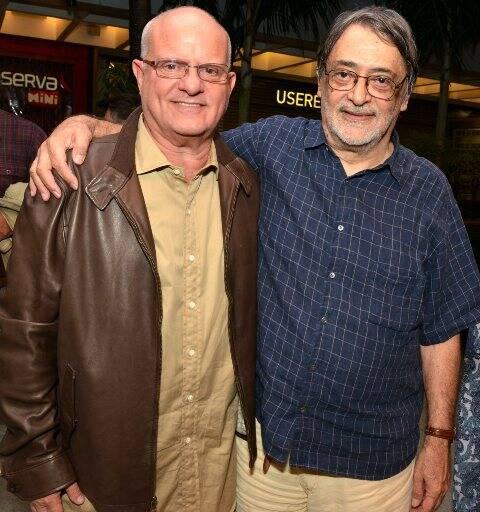 Luis Erlanger e Walter Lima Jr.