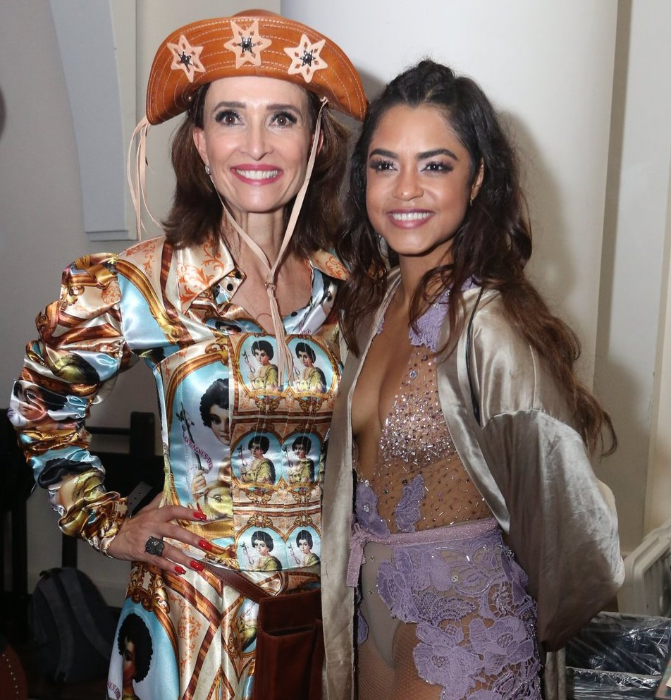 Andrea Natal e Lucy Alves