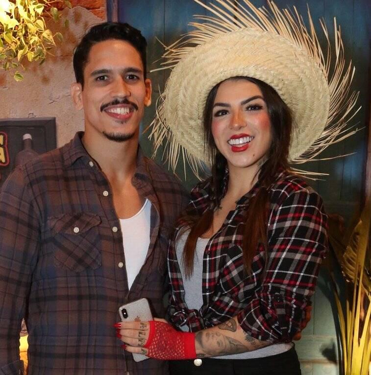 Marcos Seixas e Petra Mattar