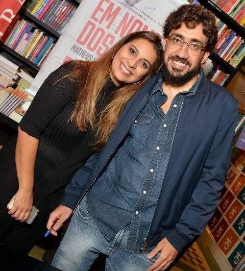Flavia Correa e Matheus Leitão
