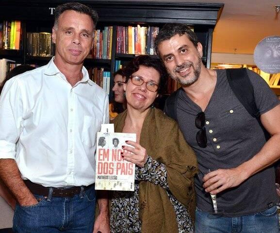 Lauro Jardim, Livia Almeida e Gustavo Autran
