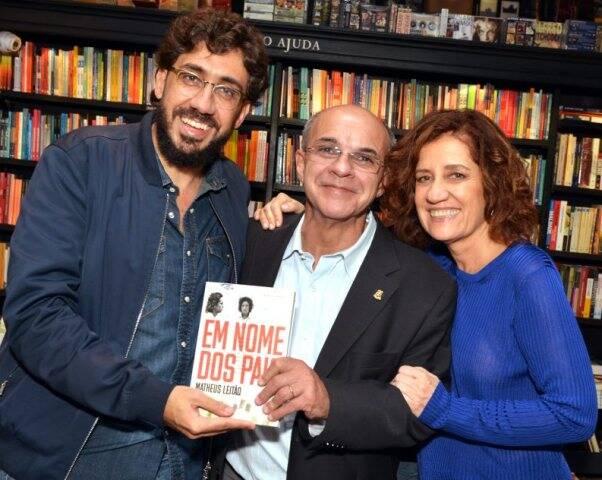 Matheus Leitão, Eduardo Bandeira de Mello e Míriam Leitão