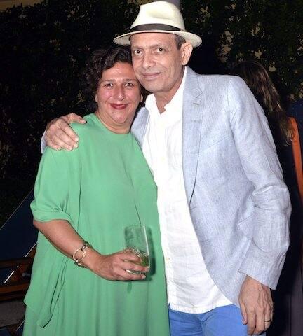 Isabela Mora e Carlito Carvalhosa