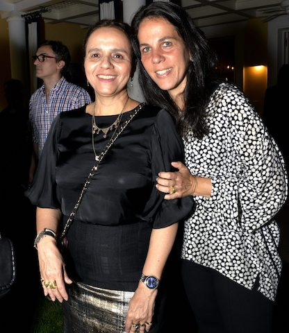 Beatriz Milhazes e Marta Fadel