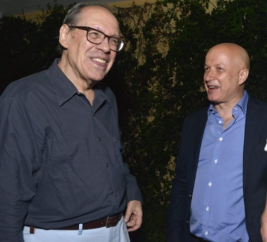 Paulo Herkenhoff e Sam Keller