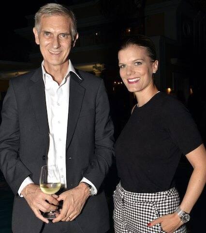 Rudolf Wyss e Christina Graser