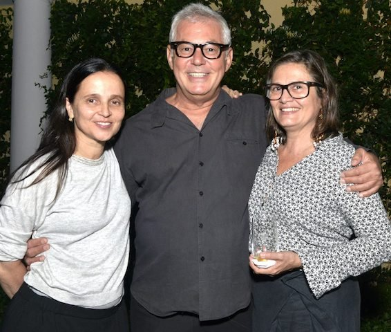 Mari Stockler, Marcos Chaves e Carmen Rikulme