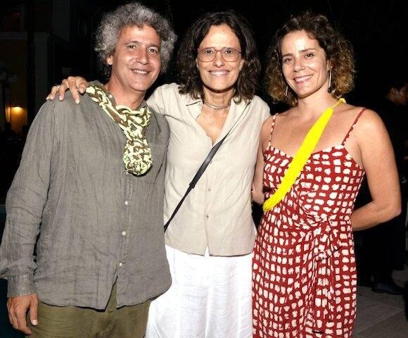 Ernesto Neto, Zélia Duncan e Louise Botkay