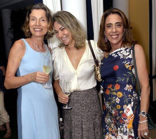 Cordélia Mourão, Marcia Müller e Mônica Marinho