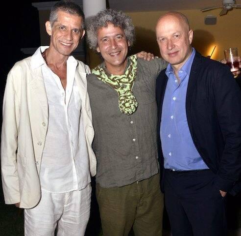 Cabelo, Ernesto Neto e Sam Keller