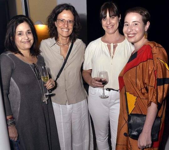 Flávia Pedras, Zélia Duncan, Maria Montero de Carvalho e  Vivian Gandelsman