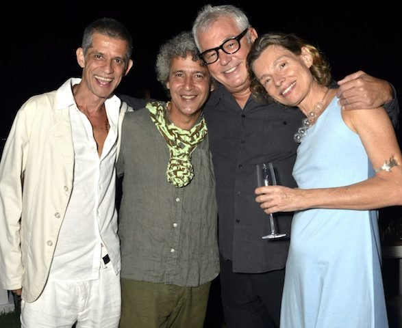 Cabelo, Ernesto Neto, Marcos Chaves e Cordélia Mourão