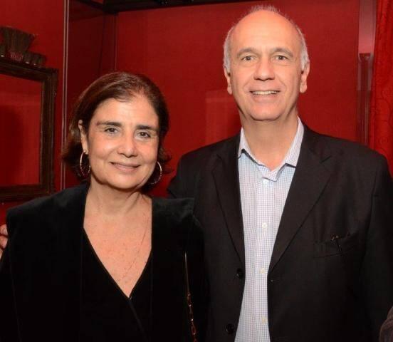 Katia Davillez e Luis Leite Pinto
