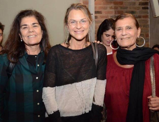 Bia Borges, Cristina Borges e Mônica Silveira