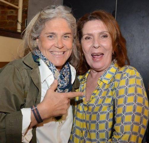 Keka Mendes de Almeida e Patricia Young