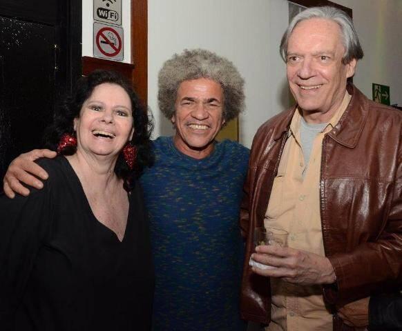 Maria Vasco, Ary Dias e Chico Caruso