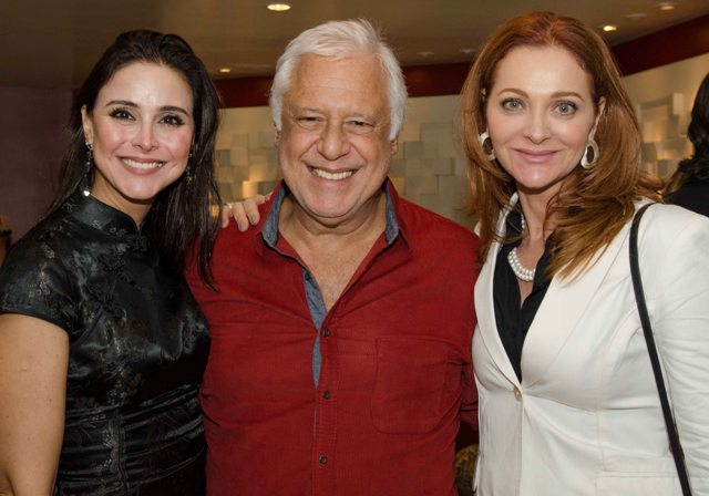 Alexandra Martins, Antônio Fagundes e Alexandra Richter